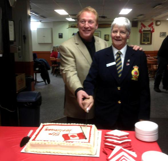 50th Anniversary Cake 1