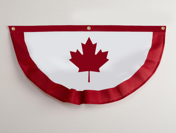 Canada Patriot Bunting 2 (3 grommets) s