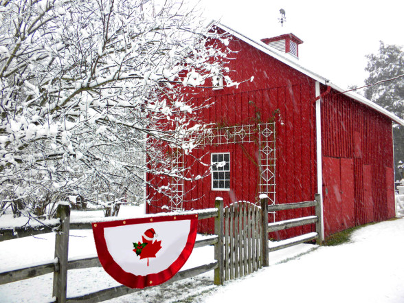 Christmas in Canada 150 C