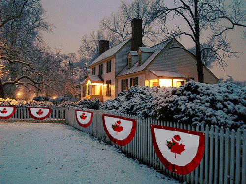 Christmas in Canada 150 E