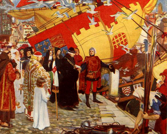 John Cabot Sets Sail for Canada, 1497